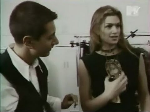 Cindy Crawford interview on MTV Channel 90s