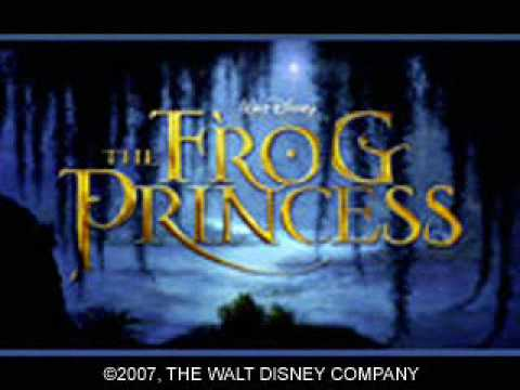 The Princess and the Frog movie from Disney