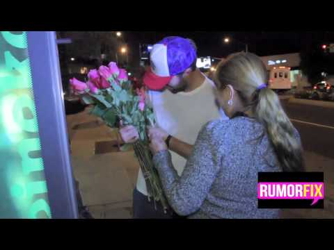 Brody Jenner Buys Roses For Paparazzi
