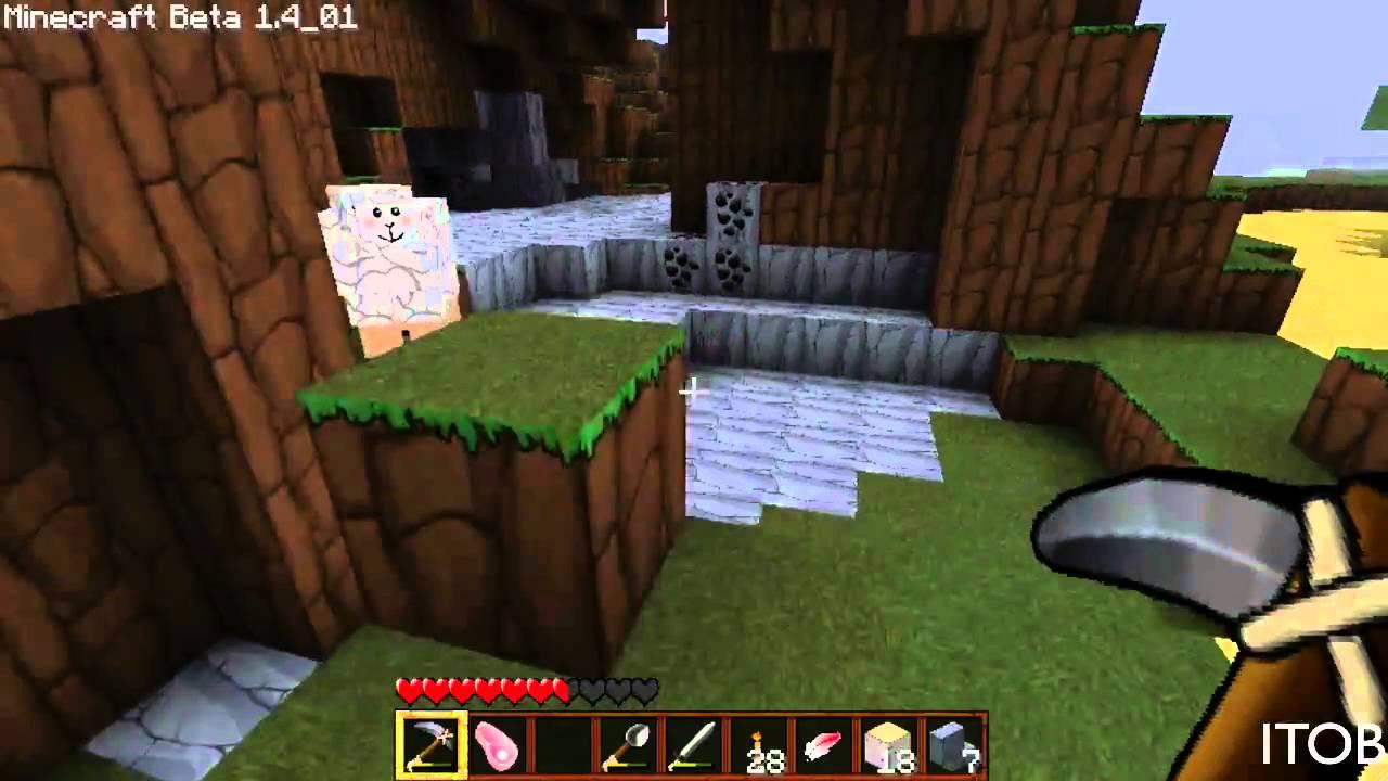 Minecraft Solo:double Rainbow