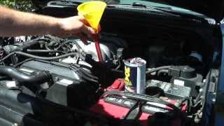 DIY proper oil change using BG products
