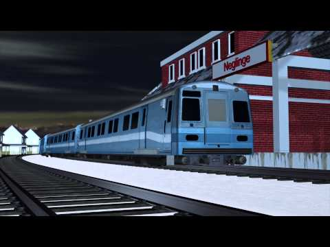 Woman in Sweden steals train, crashes it into a house