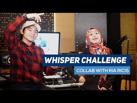 WHISPER CHALLENGE ft. RIA RICIS