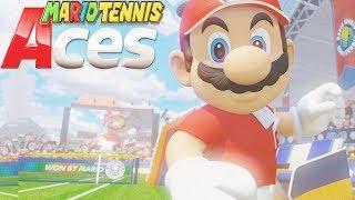 MARIO TENNIS ACES All Cutscenes Movie (Game Movie) - Nintendo Switch
