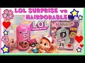 LOL SURPRISE contro HAIRDORABLE! il CONFRONTO by Lara e Babou - under wraps wave 2 mp3 indir