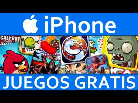 TOP 10 Juegos Para iPhone GRATIS 2013 | Los Mejores Juegos GRATUITOS