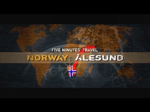Five Minute's Travel: Norway - Alesund (Норвегия - Алезунд)