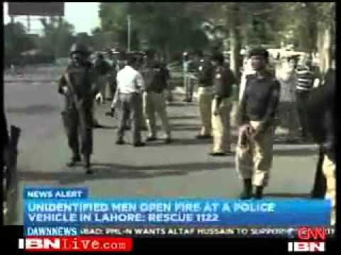 Sri Lankan cricket team attacked in Pakistan.flv