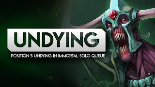 Position 5 UNDYING in Immortal Solo Queue (Leading team to victory)