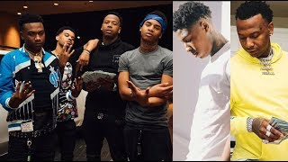 Moneybagg Yo TAPS IN WIT NBA YOUNGBOY Squad After Baton Rouge SH0W!