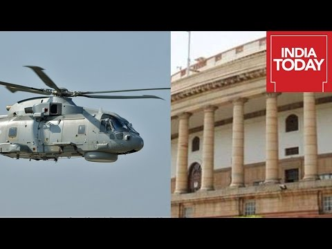 #VVIPChopperScam: Choppergate Blame Game Continues For Third Day In Parliament