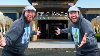 We Ate FOR FREE At A Buffet Disguised As The Same Person! (IT ACTUALLY WORKED)