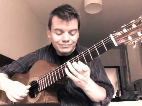 Heitor Villa Lobos 'Schottish Choro' - Played by Steven Brennan