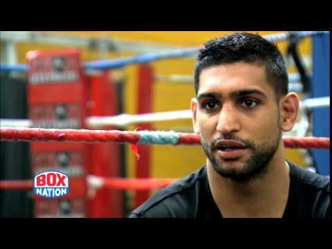 Amir Khan 10 days after Collazo win