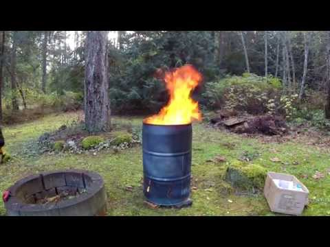 How to Make a Burn Barrel forecast