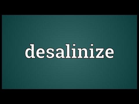 Header of desalinize
