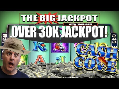 😱INSANE HIT!! 😱Over 30 THOUSAND DOLLAR$ on Cash Cove 💰Raja's 2nd BIGGEST JACKPOT from Vegas