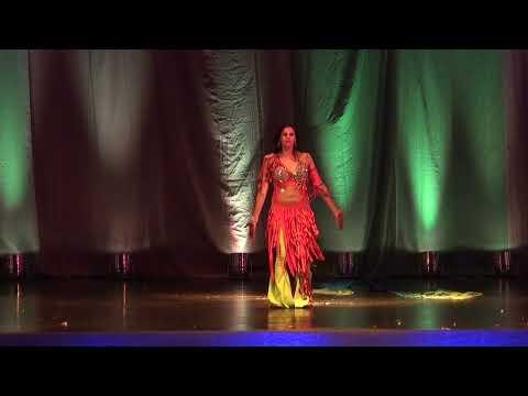 HD Hermosa Siomara Bellydance Bailarina Profesional de Danza Arabe