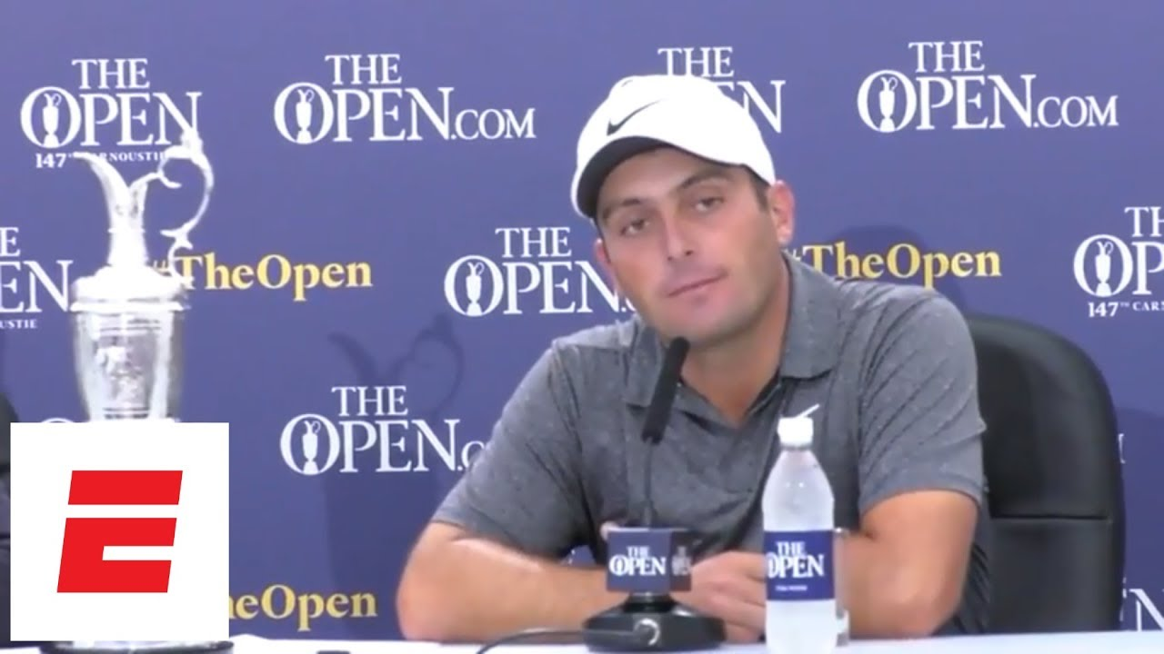 Francesco Molinari beats Tiger Woods, field to win The Open 2018 [press conference] | ESPN