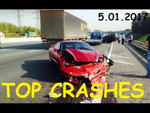 TOP 10 Car Crashes Car Crash Compilation 5 01 2017