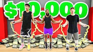 Last To Stop Jump Rope Wins $10,000 w/ 2HYPE!