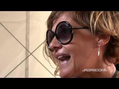 Intervista a Irene Grandi, live @ JazzAscona 2014, 22nd of June 2014
