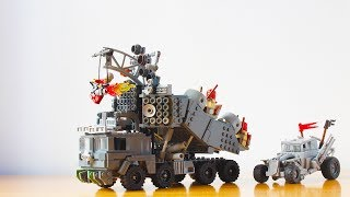Building the Mad Max Doof Wagon from Fury Road in Lego