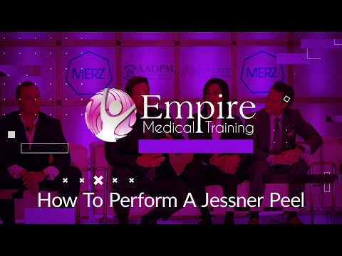 Facial Aesthetics - How To Perform A Jessner Peel by Lorena Cosentino - Empire Medical Training