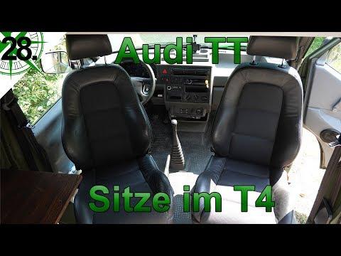 Innenausbau   Audi TT Sitze   vom VW T4 Syncro Transporter zum Camper   # 28.