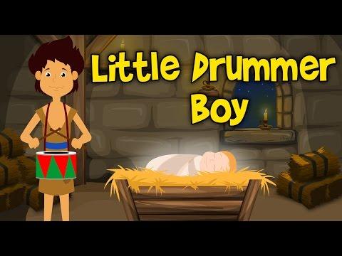 Little Drummer Boy Christmas Song For Children   CDS Kids Tv