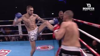 Booster fight gear promo Ibrahim El Boustati en Redouan Laarkoubi