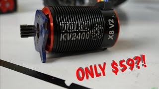 SKY RC Toro x8 v2 2400kv 6 Pole Brushless Motor | Installation/Test with Stampede 4x4 | Overkill Rc