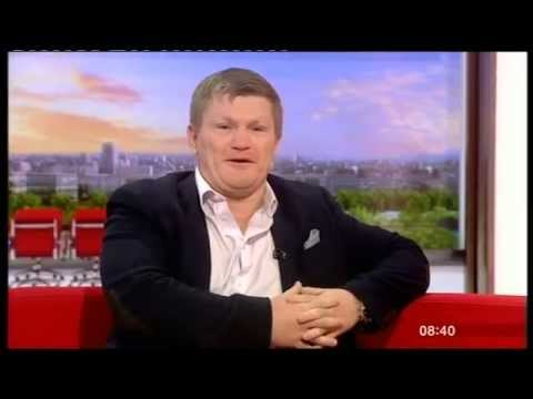 BBC Breakfast - Ricky Hatton interview 2015