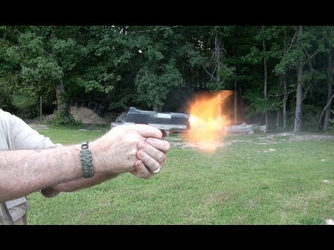 Kimber Ultra Crimson Carry II Shooting Action