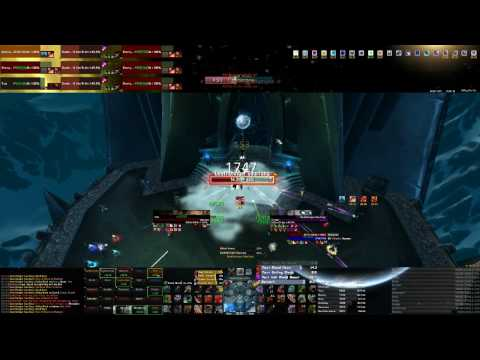 Warrior Tank Point Of View Icecrown Citadel 25 man Heroic Part 1