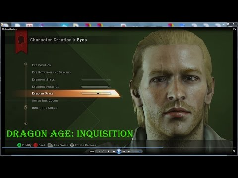 Dragon Age Inquisition Characters Creation ▶ Dragon Age Inquisition