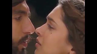 Kissing Scene Deepika Padukone and Ranvir On Ramlila