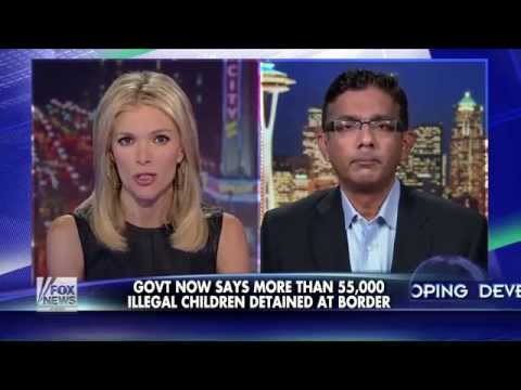 The Kelly File: D'Souza Slams Obama's Plan for Immigration Crisis