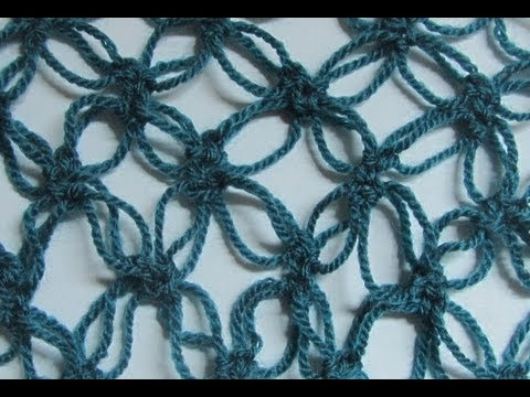 How to Crochet Solomons Knot aka Lovers Knot Stitch - YouTube