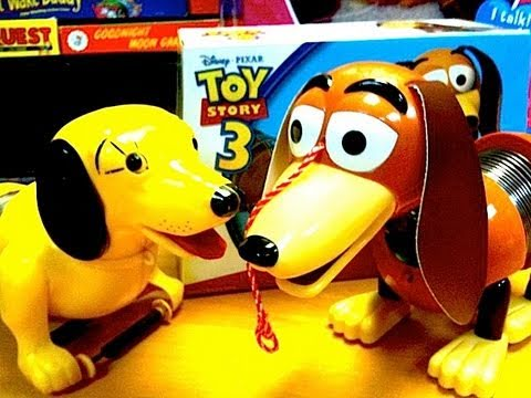 Toy Story Movie Slinky Dog History from Disney Pixar Toy Review by Mike Mozart of TheToyChannel