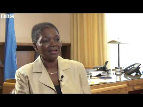 Syria crisis 'a stain on international community' - Baroness Amos