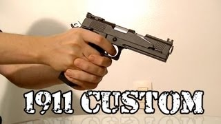 Vendo Airsoft - Pistola 1911 Custom GBB Co2 - Legalizada Brasil