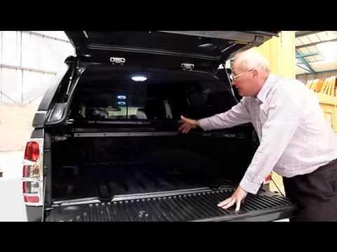 Nissan Navara D40 Hardtop / Canopy / Accessories Twentyten - Pegasus 4x4