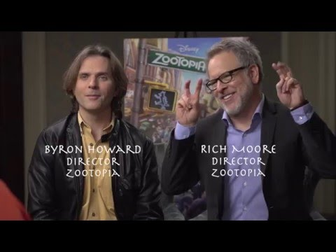 Disney's ZOOTOPIA Interview With Directors Byron Howard And Rich Moore