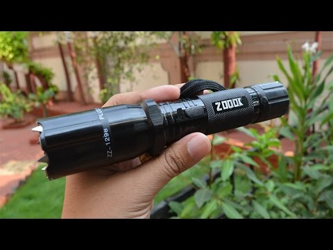 Zoook Moto69 Rechargeable Self Defence Powerful 3 In 1 Torch UNBOXING/REVIEW
