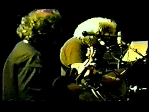 Jerry Garcia w/ Grisman Quartet Soundcheck 2-2-91
