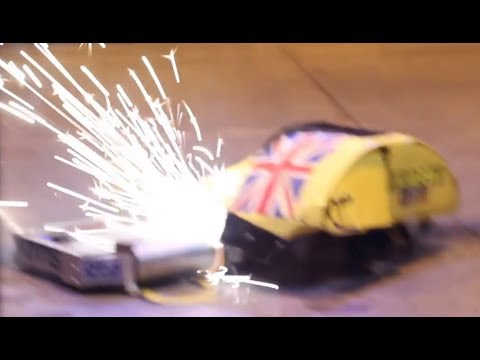 RC Combat Robot Wars - Wedgie v Night Fury v Galactus - 2014 UK Fighting Robots FW Champs Q7 #6
