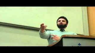 Who Created God…FUNNY Hamza Tzortzis…