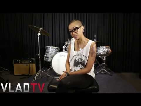 Skin Diamond Discusses Racism Between Ebony & White Scenes video