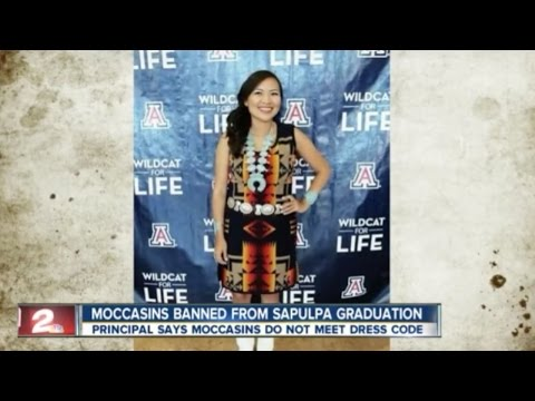 Oklahoma Student Wins Fight To Wear Moccasins To Graduation